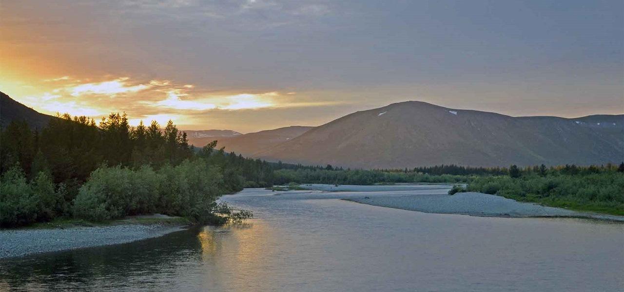 Река Собь - 129 километр