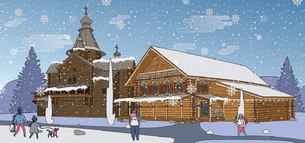Новогодняя сказка в Новгороде