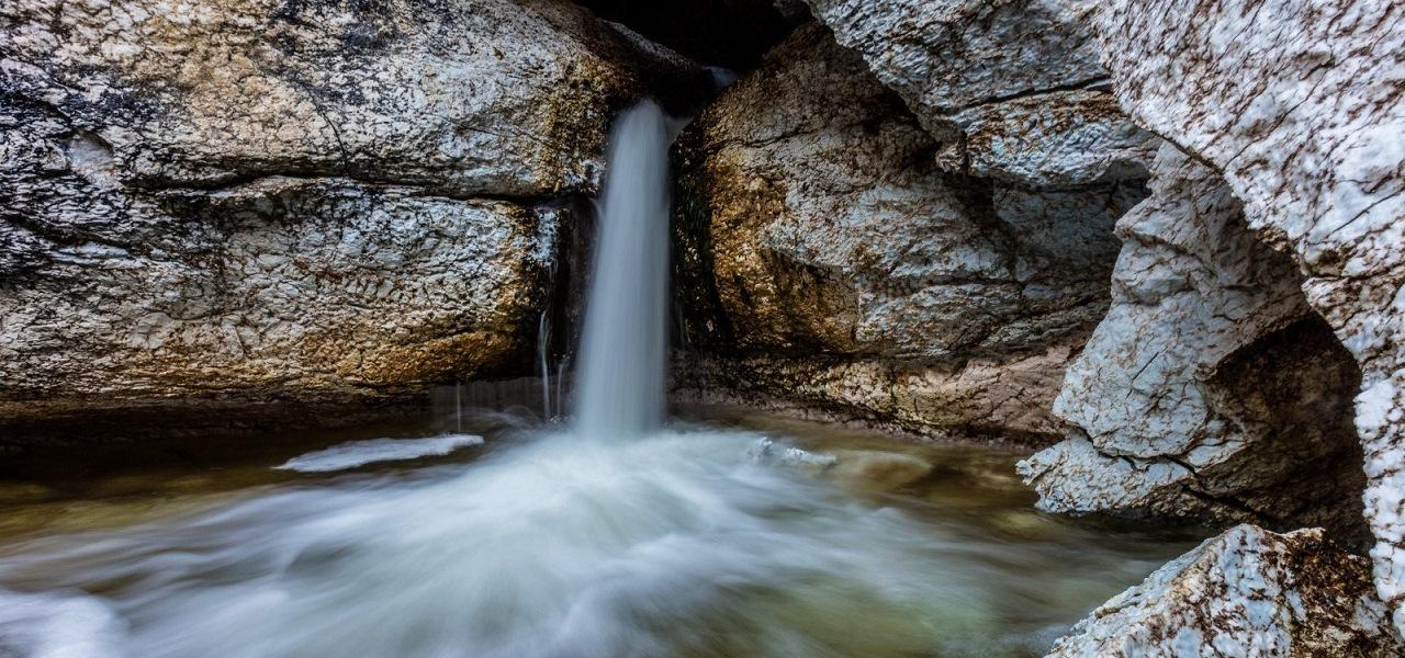 Водопад Святой источник