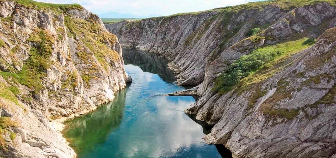 Ледяные каньоны Кары