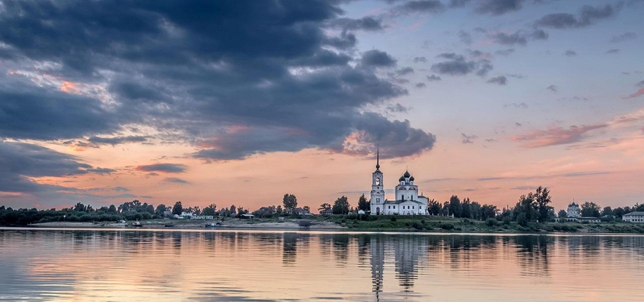 Каргополь - Сольвычегодск - В. Устюг - Тотьма